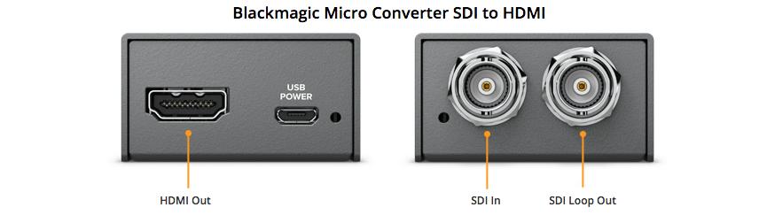 micro convertisseur HDMI vers SDI Blackmagic