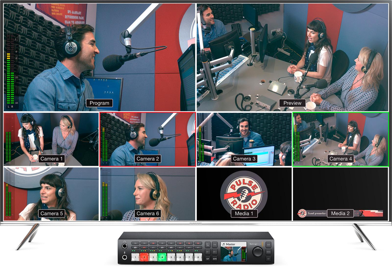 melangeur Blackmagic ATEM Television Studio HD