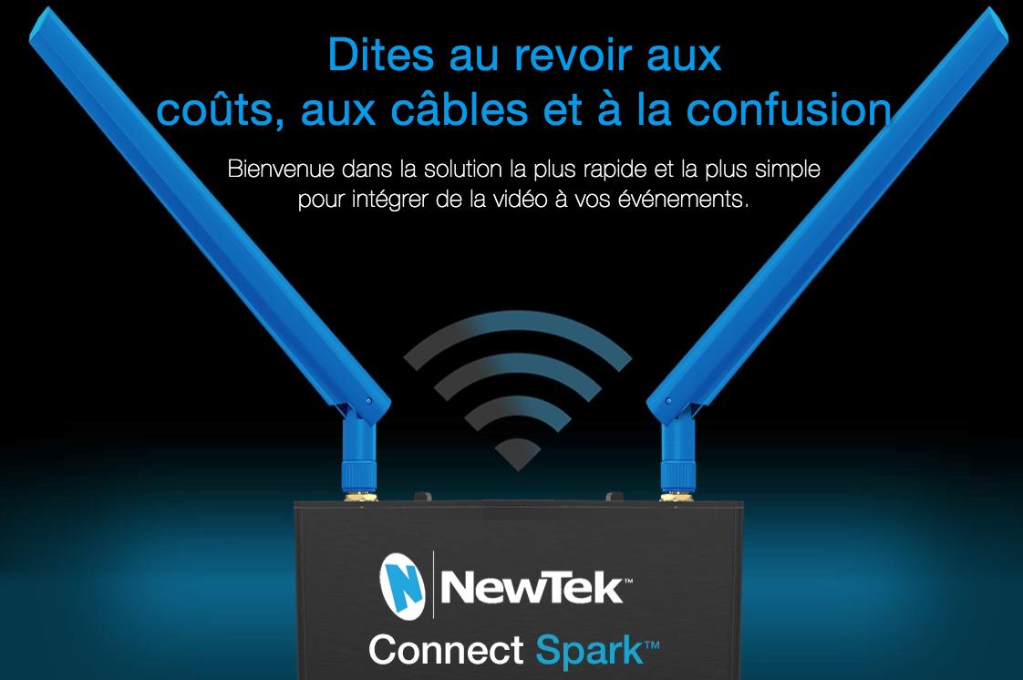 convertisseur Newtek Connect spark
