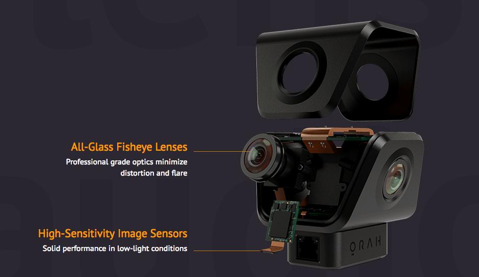 Camera VR 360° live Orah 4I