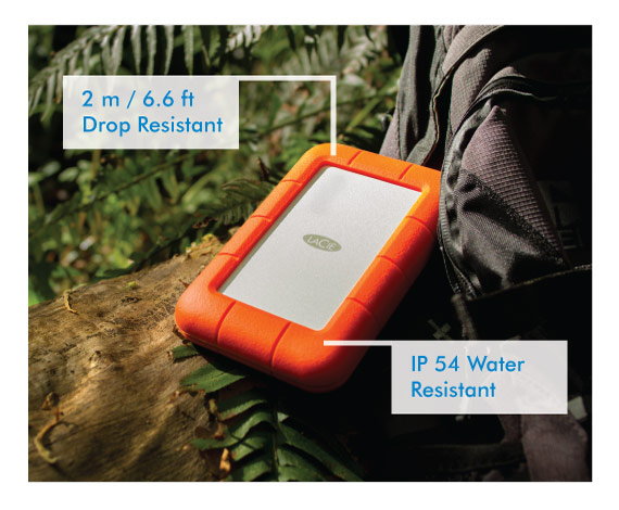 Lacie Rugged Thunderbolt - Protection des données tout-terrain