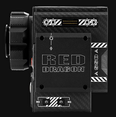 Capturez une image 6k jusqu'à 100 fps avec la caméra RED WEAPON DRAGON