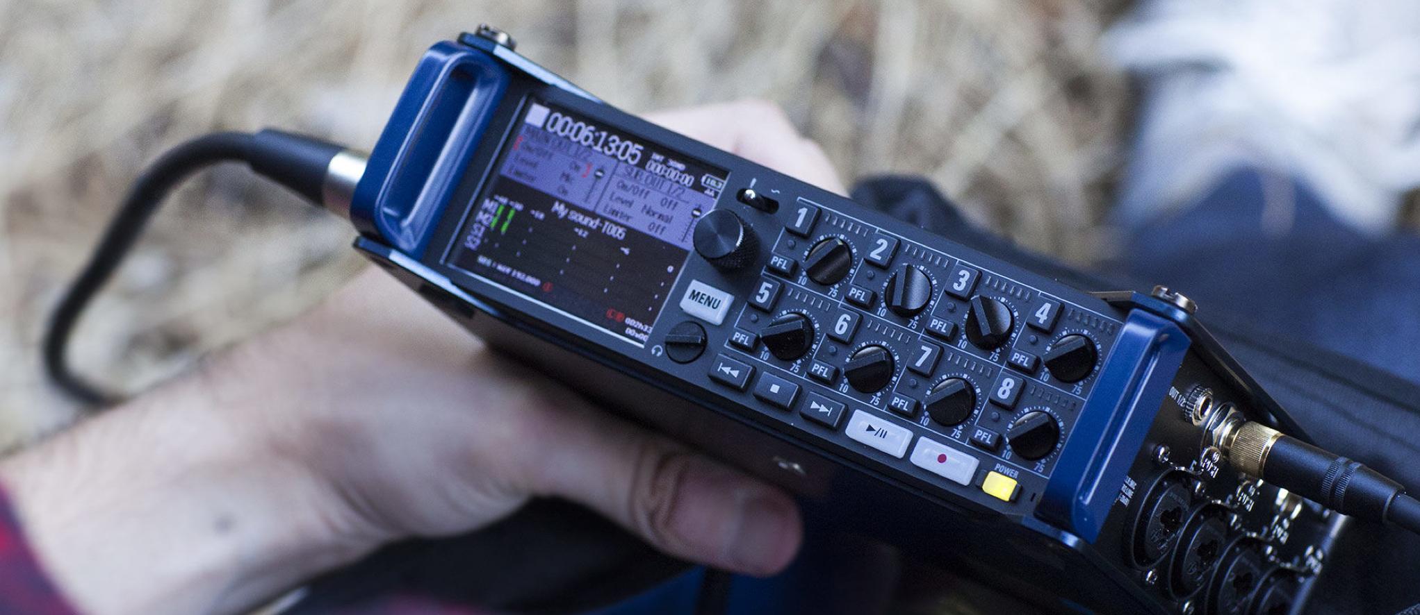 enregistreur audio ZOOM F8