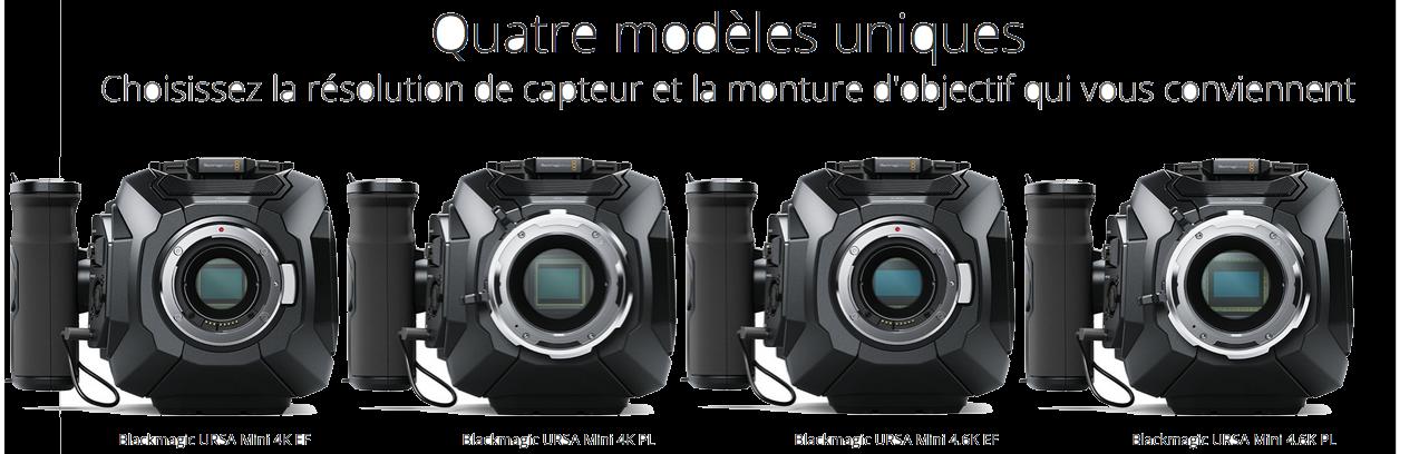 gamme Blackmagic Ursa Mini