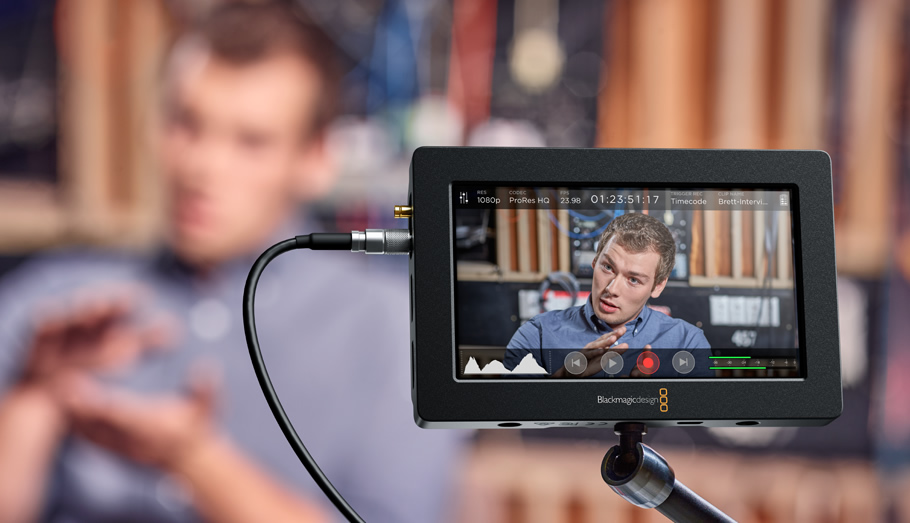 video assist blackmagic