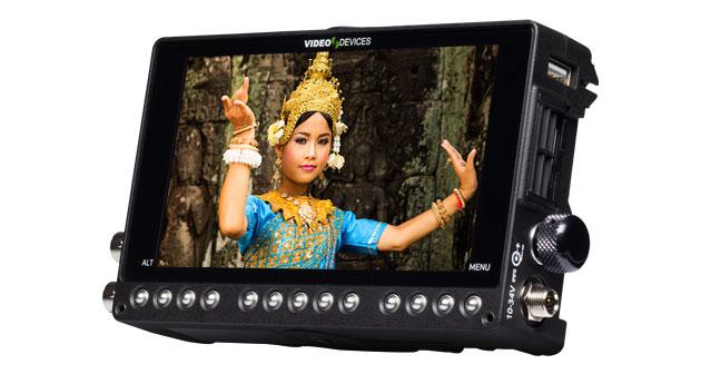 Dalle LCD du moniteur enregistreur PIX E5