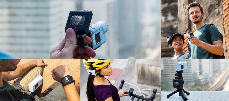 Action cam 4k stabilisé sony FDR-X3000