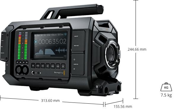 caractéristiques camera blackmagic URSA EF