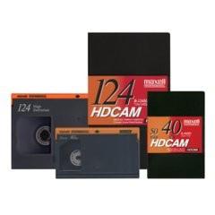 Cassettes HDCAM et HDCAM SR