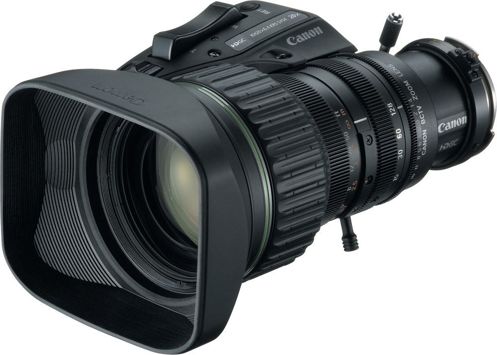 Canon HD 2/3'' 8.5mm x20 - Objectif Broadcast