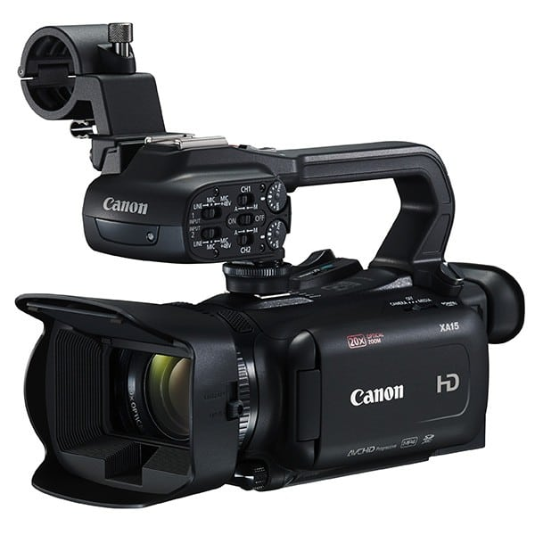 CAMESCOPE DE POING FULL HD CANON XA15