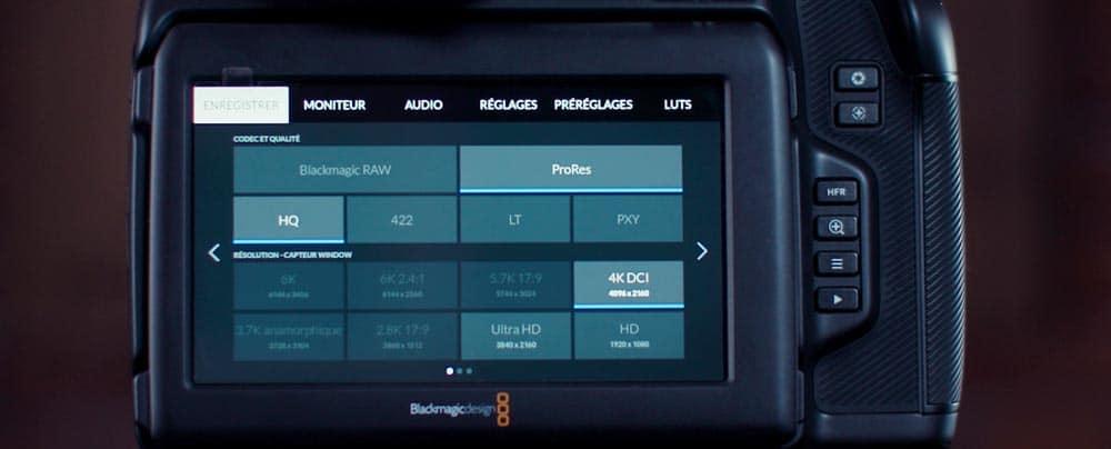 Blackmagic Pocket Cinema Camera 6K Pro : On fait le tour !